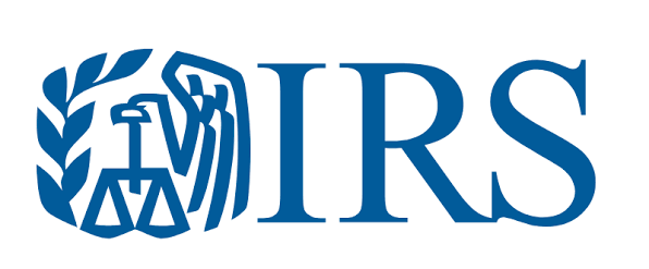 IRS Logo in blue